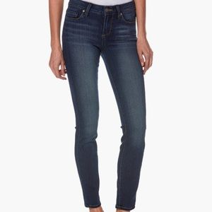 PAIGE skinny mid-rise Verdugo ankle crop jean